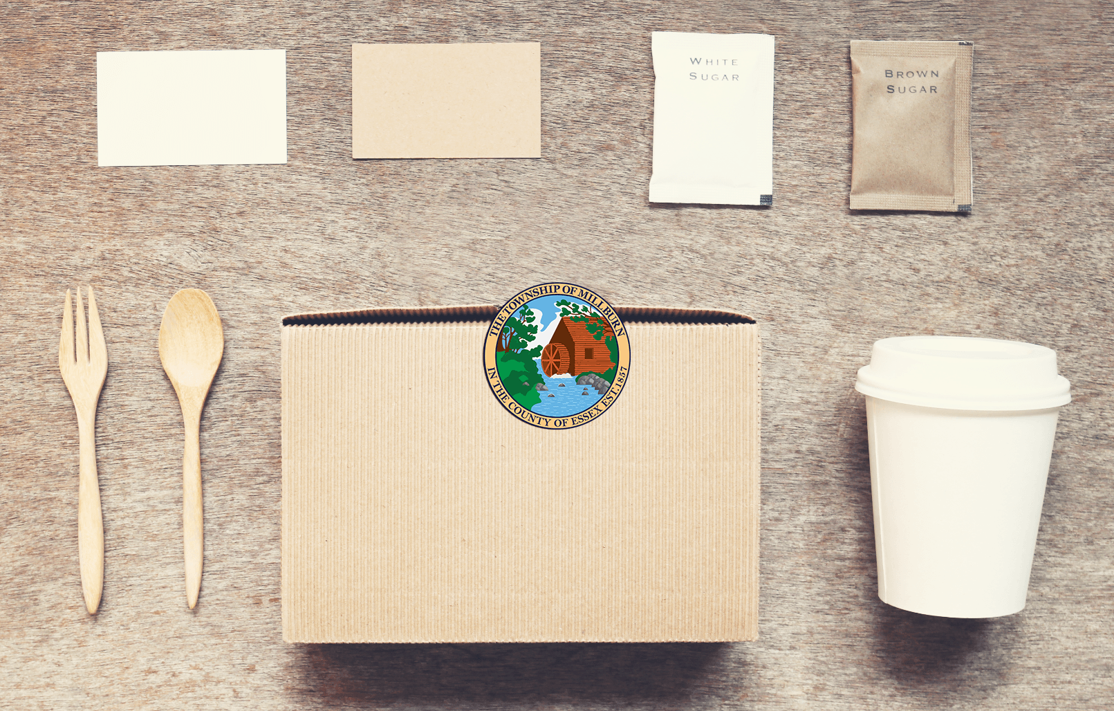 Sustainable food take out packaging