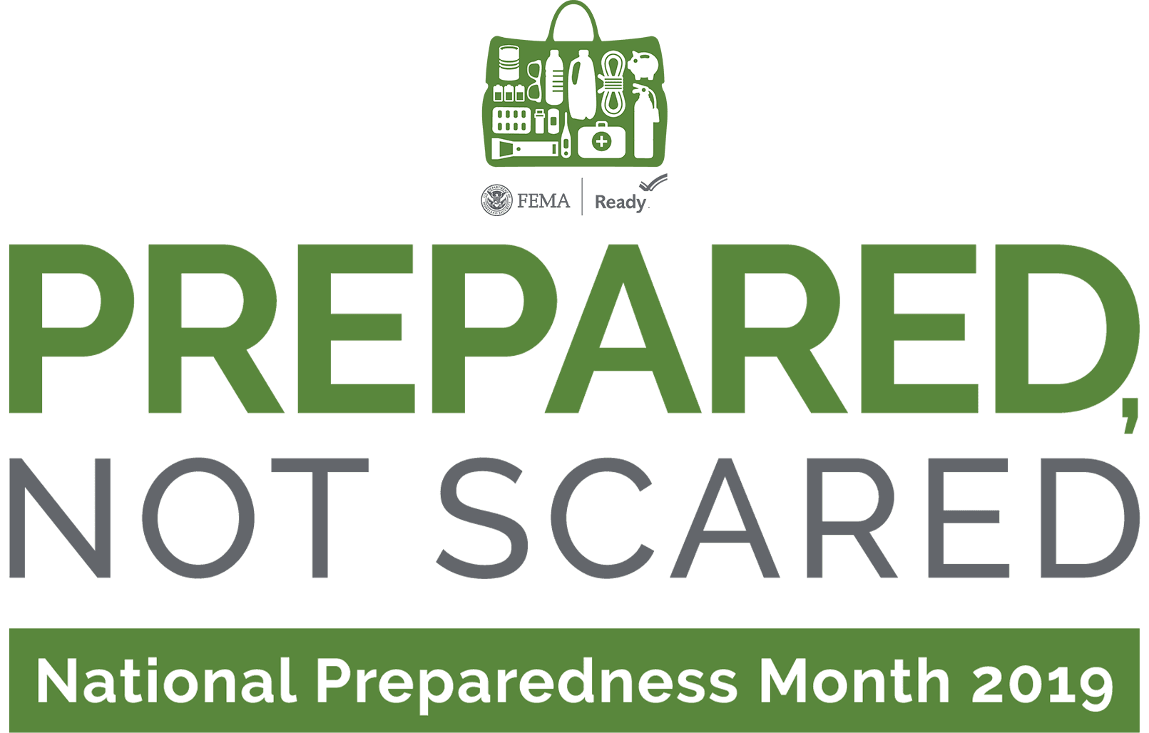 Prepared Not Scared: National Preparedness Month