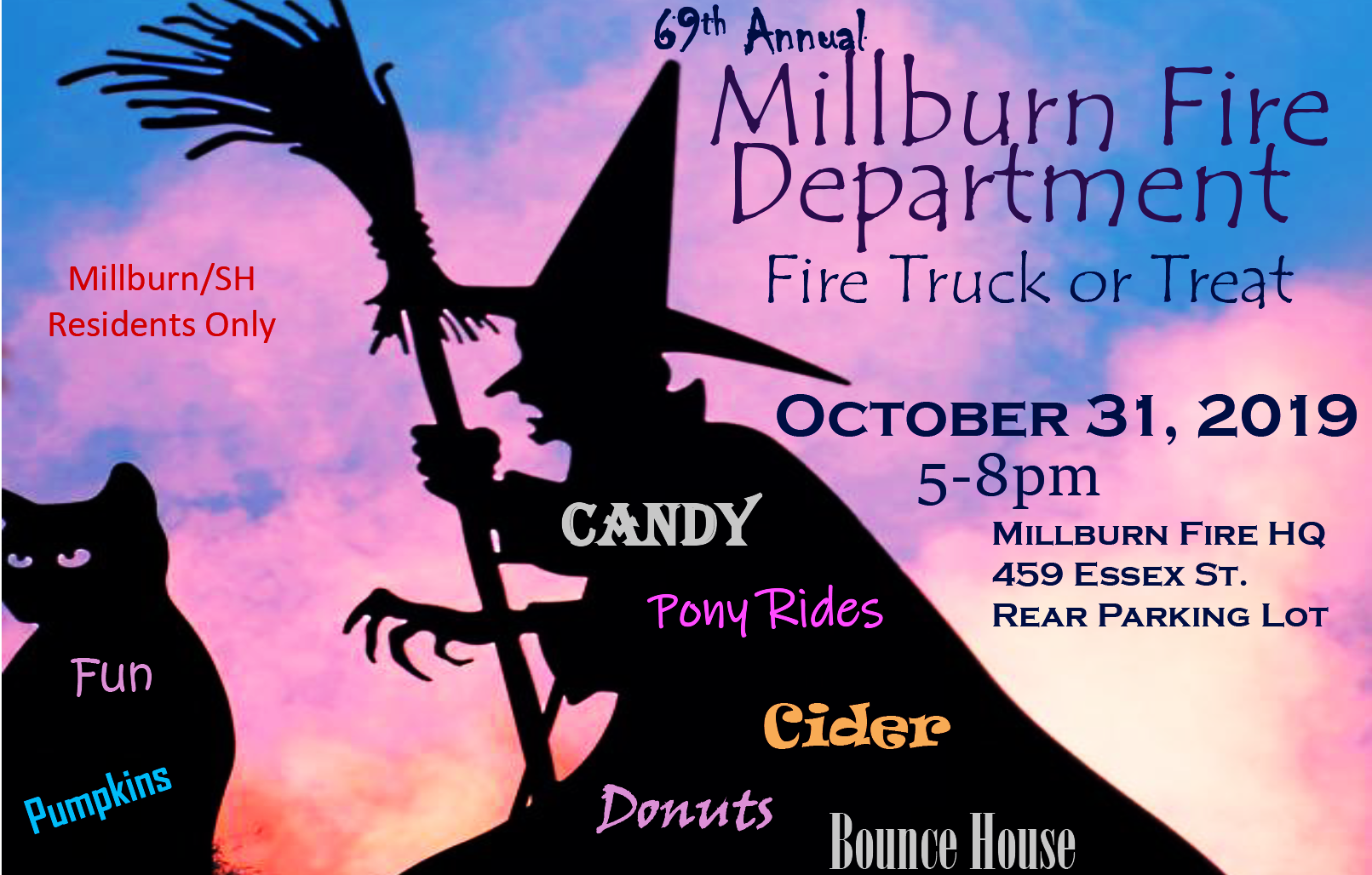 Truck or Treat Flyer with details about event