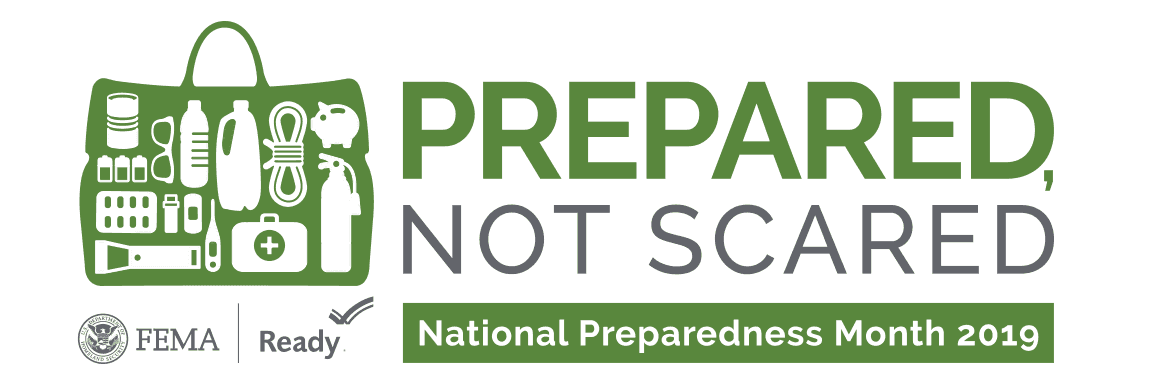 Prepared Not Scared 2019 Logo