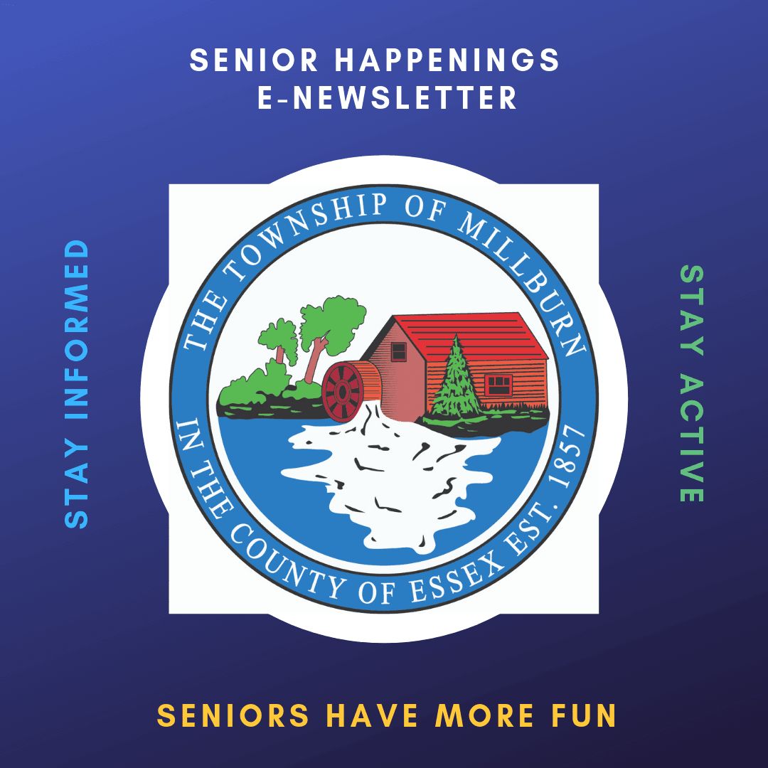 senior happenings  e-Newsletter subscribe