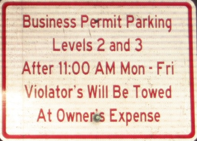 business parking level 2