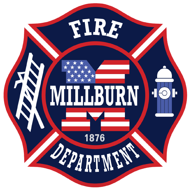 Millburn Fire Department Logo