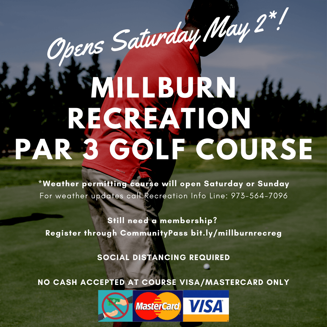 Par 3 Golf Opens May 2, 2020